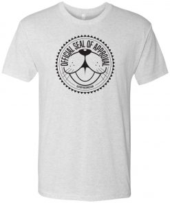 Seal of Approval Light Color – UltraSoft Triblend T-Shirt