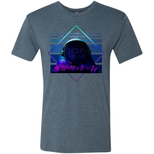 Sci-Fi is Blue – UltraSoft Triblend T-Shirt