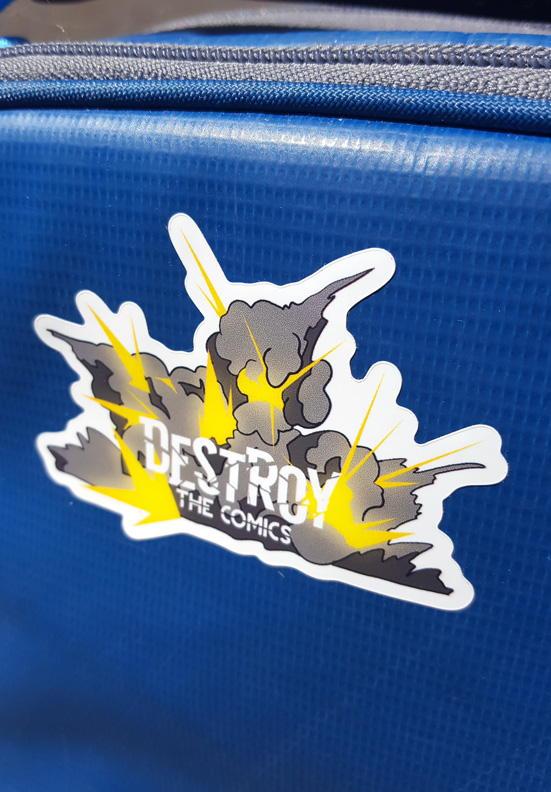 Fresh Logo Die Cut Sticker  Weather Resistant