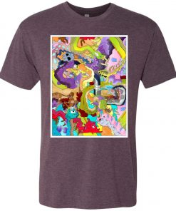 Garden o' Dragons – UltraSoft Triblend T-Shirt