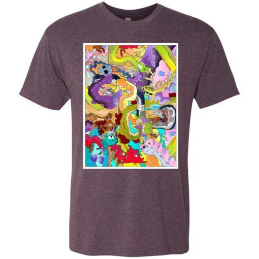 Garden o' Dragons – UltraSoft Triblend T-Shirt