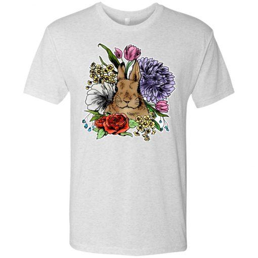 Bloomin' Bunny Blossoms – UltraSoft Triblend T-Shirt
