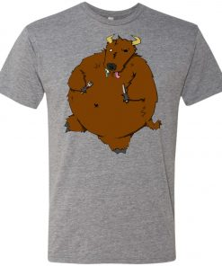 Hungry Hungry Bison – UltraSoft Triblend T-Shirt