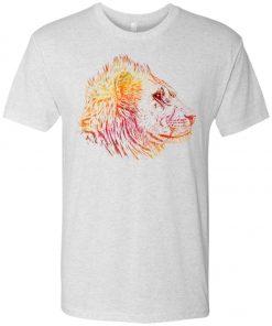 Funky Prisma Lion – UltraSoft Triblend T-Shirt
