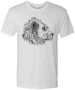 See Lion Light Color – UltraSoft Triblend T-Shirt