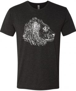See Lion Dark Color – UltraSoft Triblend T-Shirt