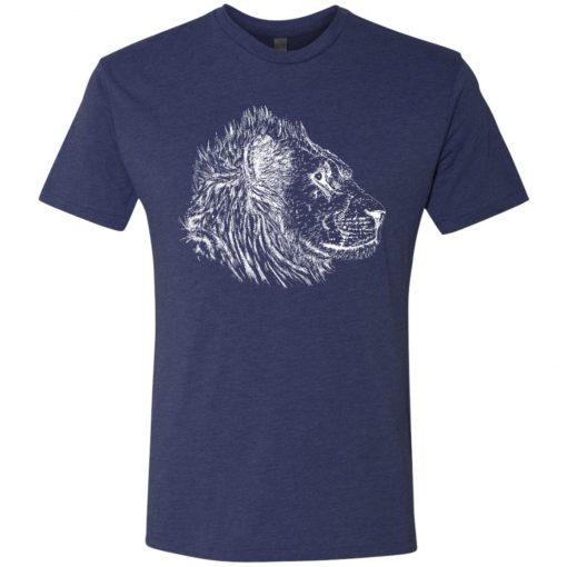 See Lion Dark Color – UltraSoft Triblend T-Shirt