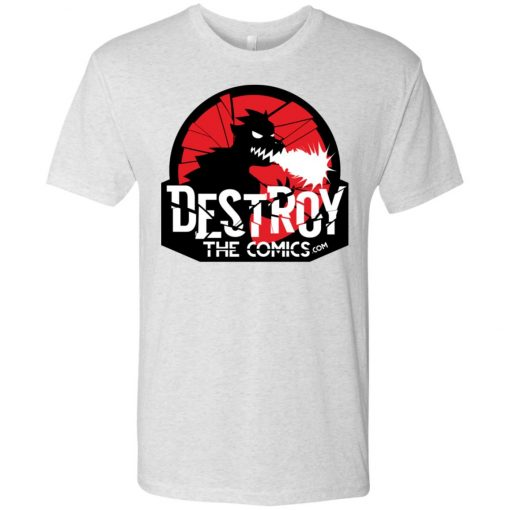 Destroy the Comics Emblem Light Color – UltraSoft Triblend T-Shirt