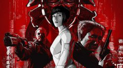 ghost in the shell poster square version