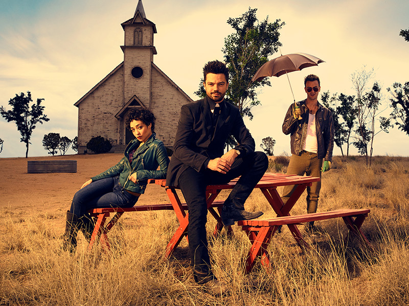 AMC's Preacher Takes Us to Church: Season 1 Review