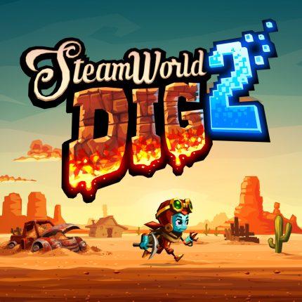 SteamWorld Dig 2 main banner