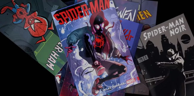 miles morales comic book cover art for his spider man